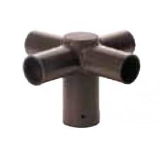Pole Mount Spoke Brackets SpokeTenon Bracket ‐  Four Arm ‐ ‐ Size Option ‐ Color Option Zenaro Roadway